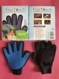 Haustier-Pflegensilikon Recht-Link-Handhundewäsche-Massage-Kamm-Handschuh