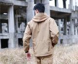 شتاء عسكريّة خارجيّ يخيّم يرفع مسيكة صوف [هوودي] دثار تكتيكيّ