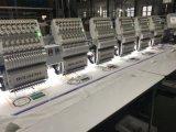 6개의 헤드 다중 아름다운 디자인이 고속 폴리에스테 털실 자수 기계에 의하여 수를 놓는다