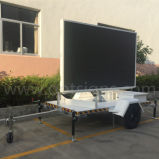 2017p de mayor venta remolque montado DIP SMD de reproducción de vídeo P6 P8 P10 en la pantalla LED de la publicidad a todo color