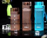 Quadratischer Form-bunter Nahrungsmittelgrad PC Plastikim freiendichtungs-Wasser-Flasche