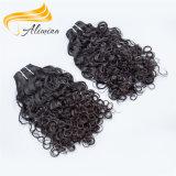 自然な未加工加工されていなく高いフィードバックのバージンのブラジルの毛の織り方