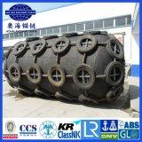 Tipo líquido 50 Kpa 2.5*4.0 que flutua o pára-choque de borracha marinho pneumático