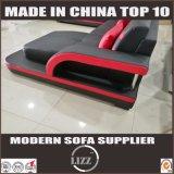 Últimas Muebles de Salón estilo moderno Woode sofá de cuero