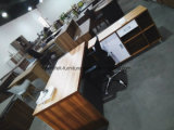 Стол офисной мебели с таблицей офиса таблицы возвращения стороны деревянной