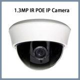камера купола IP обеспеченностью CCTV иК пластмассы 1.3MP крытая (DH1)