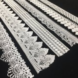 Beau lacet personnalisé floral bon marché de garniture pour Madame Garment From S.M. Lace