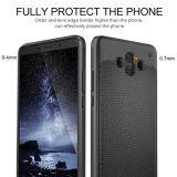 Наградная гибкая мягкая анти- ответная часть 10 Smartphone Huawei аргументы за телефона выскальзования TPU (чернота)