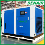 7-12 자유로운 바 전동기 직접 구동 기름 더 적은 Oilless 두 배 나사 공기 압축기