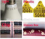 Máquina de la marca del laser de la etiqueta de plástico del CO2 para el código plástico de la botella/de la fecha