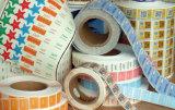 Etiqueta engomada de falsificación anti de la venta del SMP de la escritura de la etiqueta termosensible caliente de la seguridad
