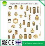 鋳造が付いている真鍮の顧客用CNC機械部品