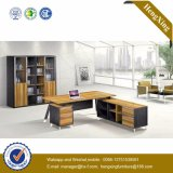 Le meilleur modèle simple de vente L bureau en bois de forme (HX-D9030)