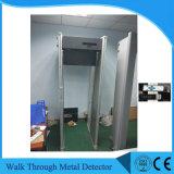 Camminata di zona di originale 6 della fabbrica tramite il metal detector la maggior parte della barriera di sicurezza semplice popolare
