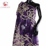 Nueva venta al por mayor de la tela del cordón de Tulle de la llegada para la boda o la celebración