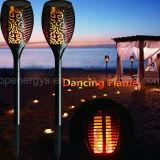 태양 에너지 정원 야드 잔디밭 통로 Halloween LED 토치 빛 램프