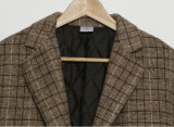 2018 изготовленный на заказ<br/> флис досуга женщин костюм куртка Клетчатую костюм нанесите на