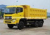 덤프 트럭 대형 트럭 Sinotruck 사용된 덤프 물통 작풍 6*4