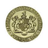 格好良い本物の金張り3Dの記念品の硬貨の金属の硬貨