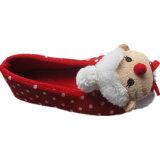 Поза собаки лицом Furry балет обувь