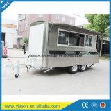 Vrachtwagen van de Aanhangwagen van het Voedsel van Yieson de Mobiele