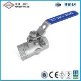 2PC leves da Válvula de Esfera de aço inoxidável para tratamento de água