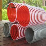 D'aspiration PVC flexible pour l'huile industrielle de l'eau