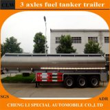 Eje Fuwa remolque cisterna de combustible más barato con alta calidad
