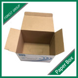 Голубая лоснистая коробка гофрированной бумага (FP2267)