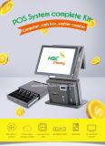 De Computer die van het Scherm van de Aanraking van de Prijs 15inch van de fabriek POS Machine voor Kassier factureren