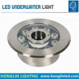 Meilleure vente Imperméable IP68 9W Fontaine sous-marin de lumière à LED
