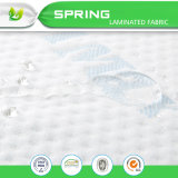 Plástico permeable el respaldo de TPU mejor vendidos de Amazon protector de colchón de microfibra, Funda de colchón de espuma flexible