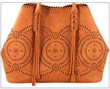 方法女性の贅沢な戦闘状況表示板の女性ハンドバッグPUはくり抜く夏袋(WDL0722)を