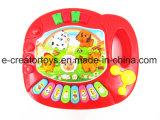 Caricature d'animaux de ferme orgue électronique Electronic Musical de jouets