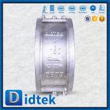 Klep van de Controle van het Wafeltje van de Flens van het Roestvrij staal van Didtek de Duplex