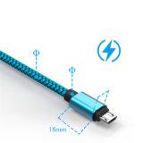 câble usb tressé de nylon de 1m 1.5m 2m pour iPhone6/6p/7/7p