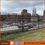 La seguridad de los paneles valla de jardín de hierro forjado.