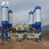 Pianta d'ammucchiamento concreta del cemento caldo di vendita Hzs75 in Malesia
