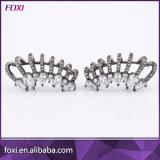 La Chine de gros plaqué or 18k Fashion CZ Brassard Earrings