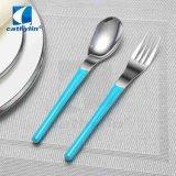 Het beste Verkopende Blauwe Bestek van het Handvat van de Kleur Plastic