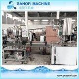 Zuverlässige Maschinerie-linearer Typ Wasser-waschende füllende mit einer Kappe bedeckende Maschine