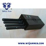 Brouilleur portatif noir de téléphone mobile de la haute énergie 3G 4G Lte
