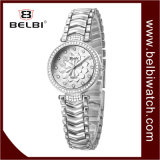Wristwatches ювелирных изделий кварца повелительниц шкалы Belbi малые