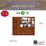 Escritório de design moderno mobiliário de estante de madeira armário de arquivos