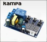 110V, 220V 5UM LED Self-Lock disparar o relé de atraso de tempo de ciclo PLC Automação Doméstica do Módulo do Interruptor do temporizador de atraso