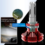 LEIDENE van het LEIDENE Licht van de Koplamp 6000K de Hoge Lage Automobiel LEIDENE van Bollen H7 Uitrusting van de Koplamp