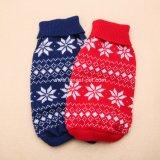 개 제품 크리스마스 다색 연약한 애완 동물 의류 개 스웨터