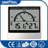 Temperatura de la visualización del LCD y termómetro de la humedad