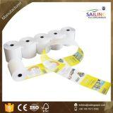 Faisceau de plastique du roulis 80*80mm de papier thermosensible de bonne qualité