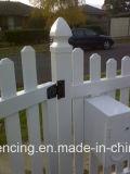 Cancello della rete fissa del PVC